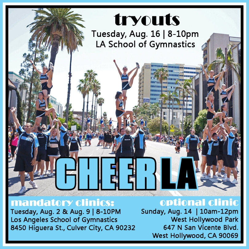 Cheer LA Tryouts 2016 smaller